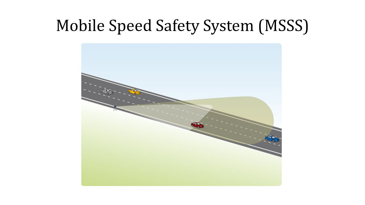 Mobile Speed Safety System (MSSS)