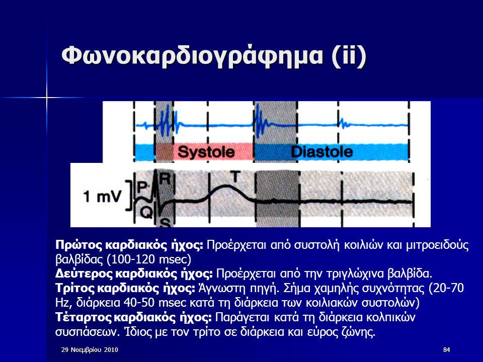 Φωνοκαρδιογράφημα (ii)