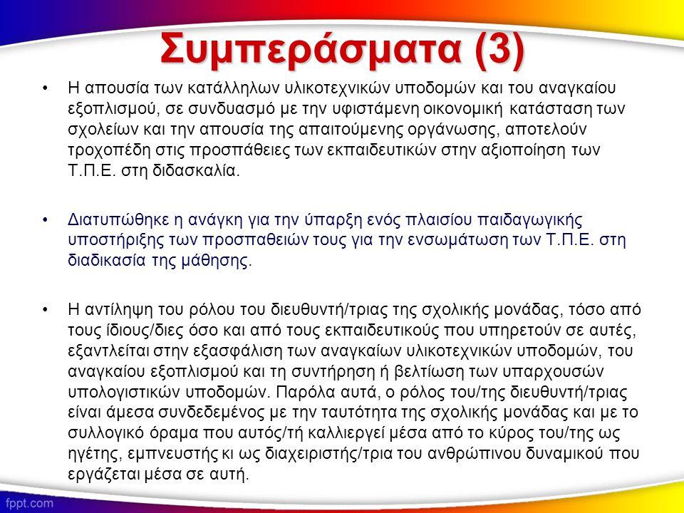 Συμπεράσματα (3)