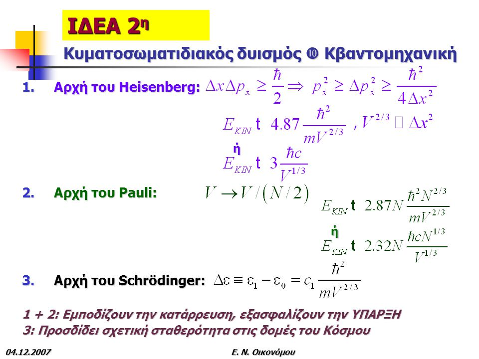 Κυματοσωματιδιακός δυισμός  Κβαντομηχανική
