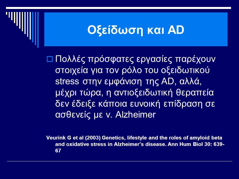 Οξείδωση και AD