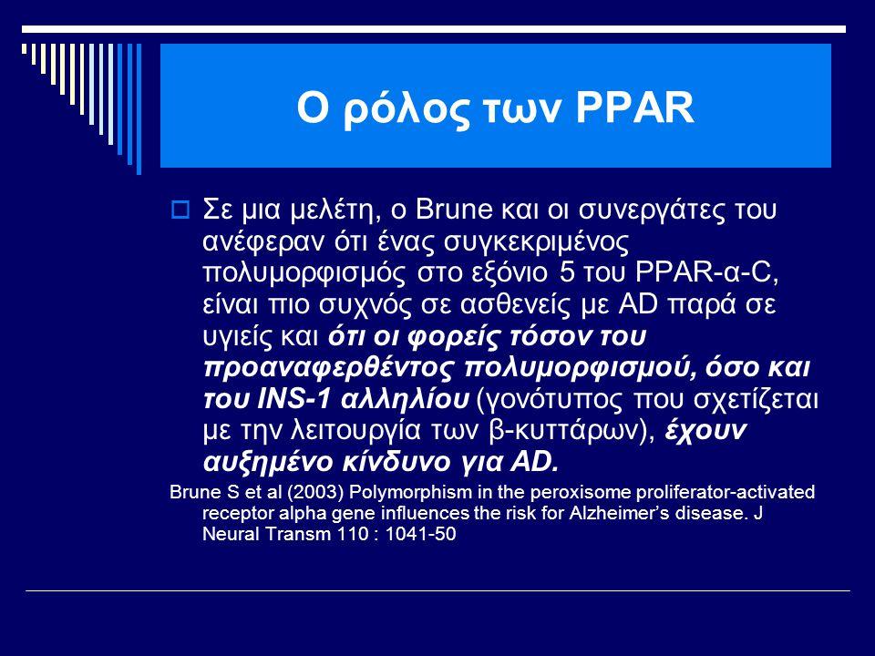 Ο ρόλος των PPAR
