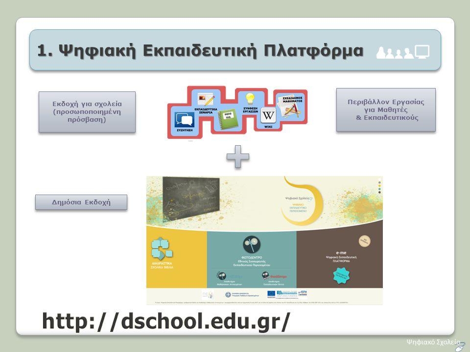 Περιβάλλον Εργασίας για Μαθητές (προσωποποιημένη πρόσβαση)