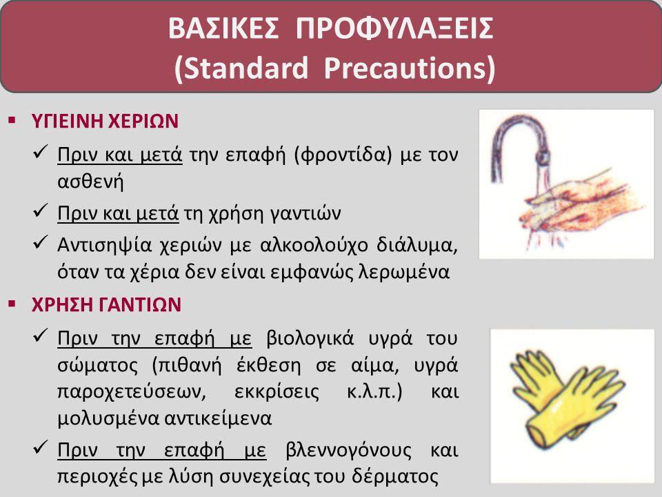 ΒΑΣΙΚΕΣ ΠΡΟΦΥΛΑΞΕΙΣ (Standard Precautions)