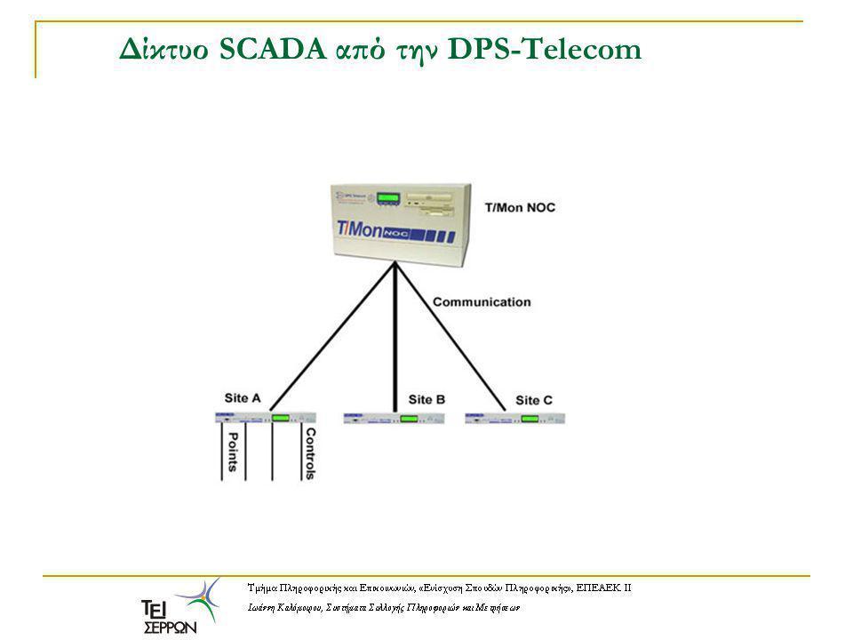 Δίκτυο SCADA από την DPS-Telecom