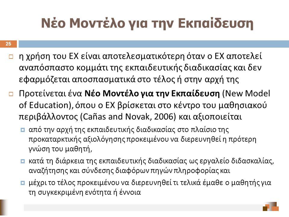 Νέο Μοντέλο για την Εκπαίδευση