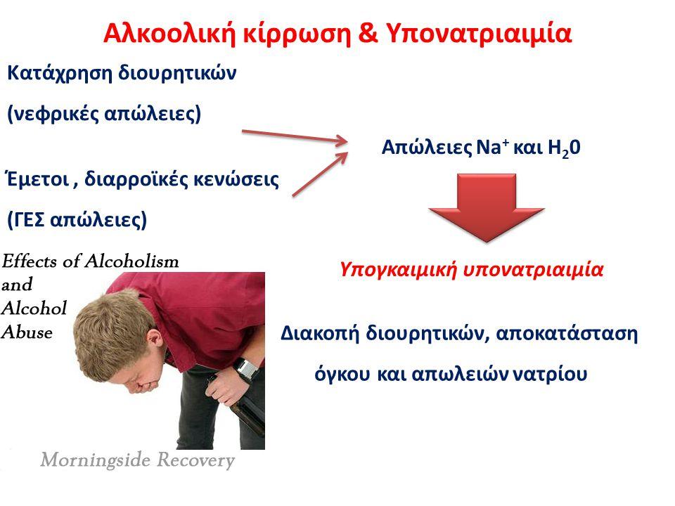 Αλκοολική κίρρωση & Υπονατριαιμία
