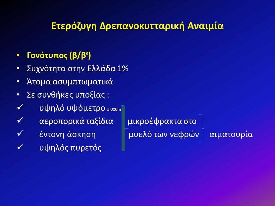 Ετερόζυγη Δρεπανοκυτταρική Αναιμία