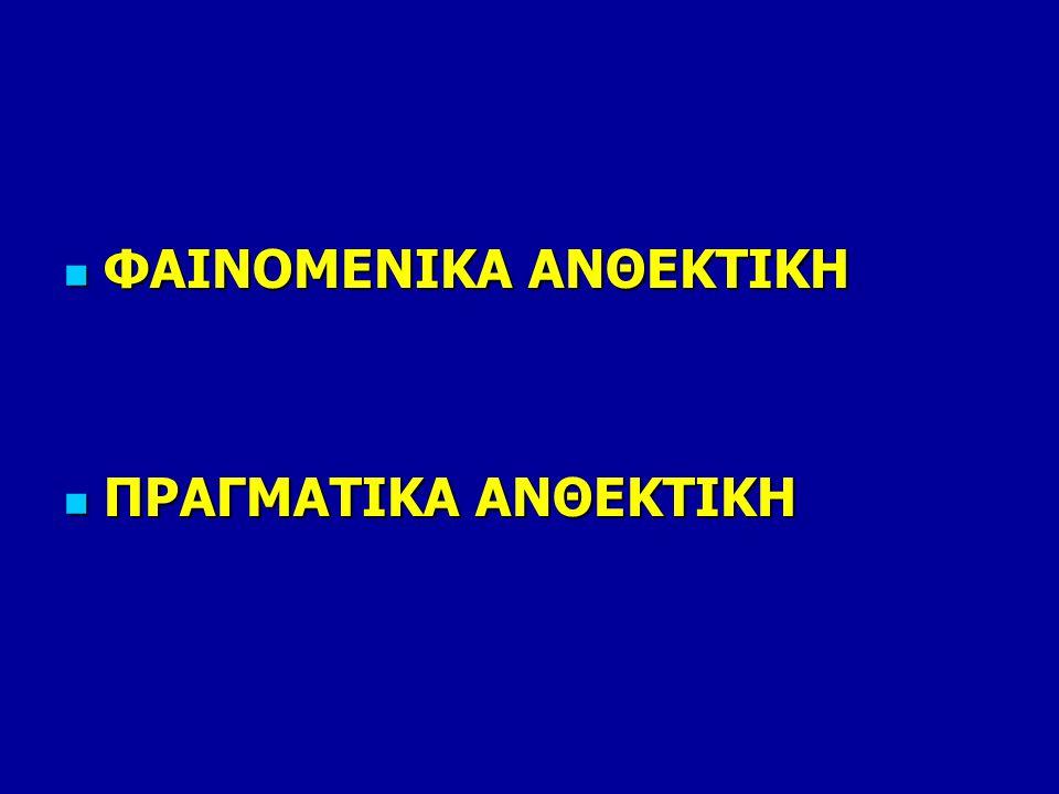 ΦΑΙΝΟΜΕΝΙΚΑ ΑΝΘΕΚΤΙΚΗ