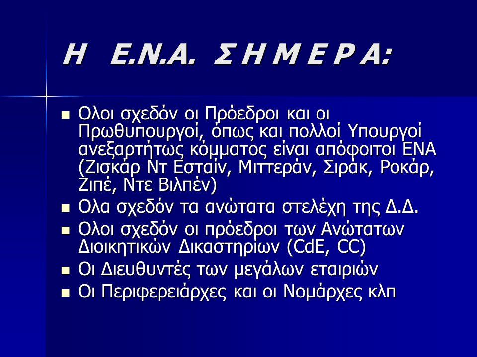 Η Ε.Ν.Α. Σ Η Μ Ε Ρ Α: