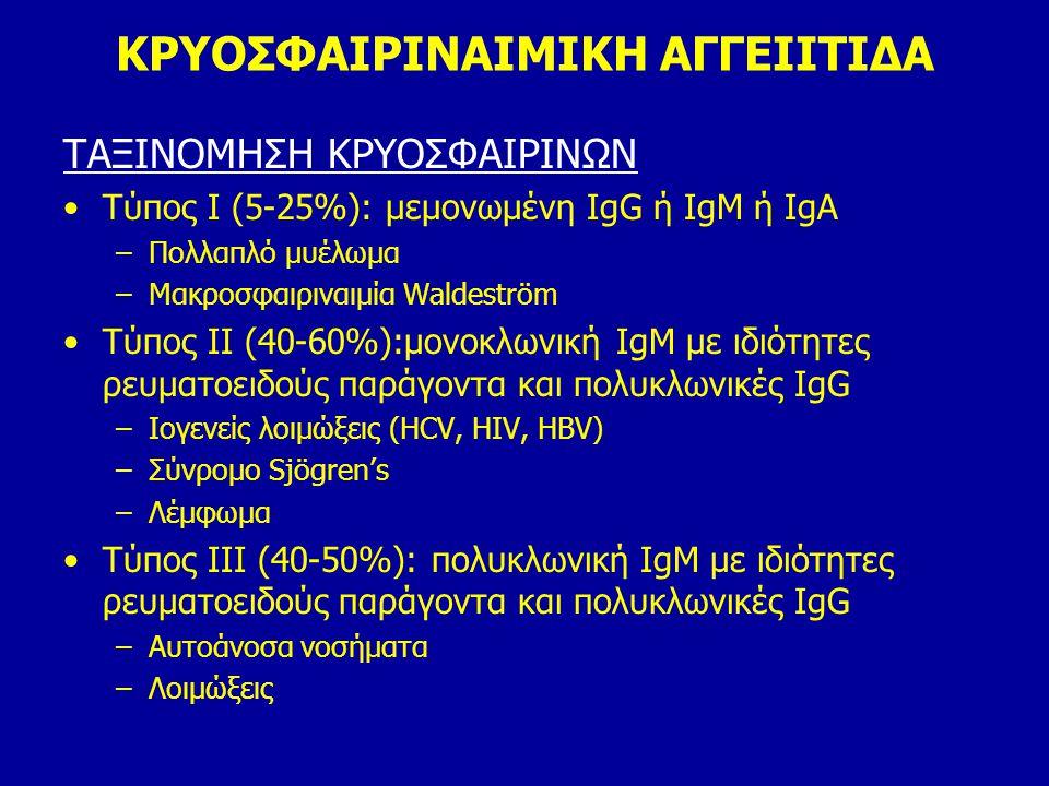 ΚΡΥΟΣΦΑΙΡΙΝΑΙΜΙΚΗ ΑΓΓΕΙΙΤΙΔΑ
