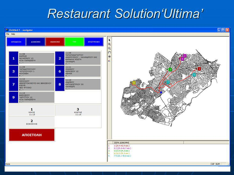 Restaurant Solution'Ultima'