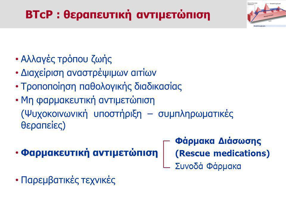 BTcP : θεραπευτική αντιμετώπιση
