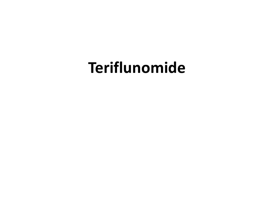 Teriflunomide Key Points