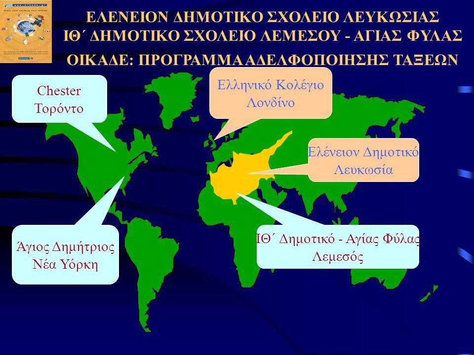 ΟΙΚΑΔΕ: ΠΡΟΓΡΑΜΜΑ ΑΔΕΛΦΟΠΟΙΗΣΗΣ ΤΑΞΕΩΝ