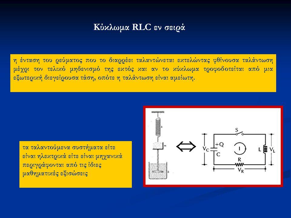 Κύκλωμα RLC εν σειρά