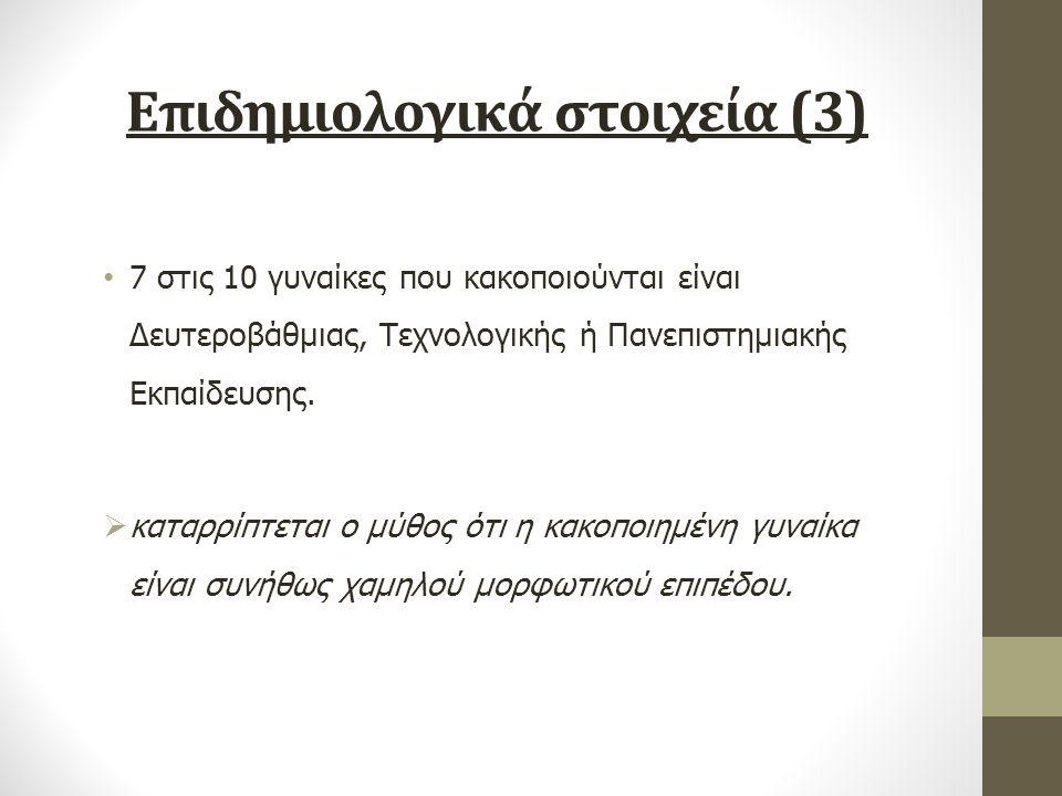 Επιδημιολογικά στοιχεία (3)