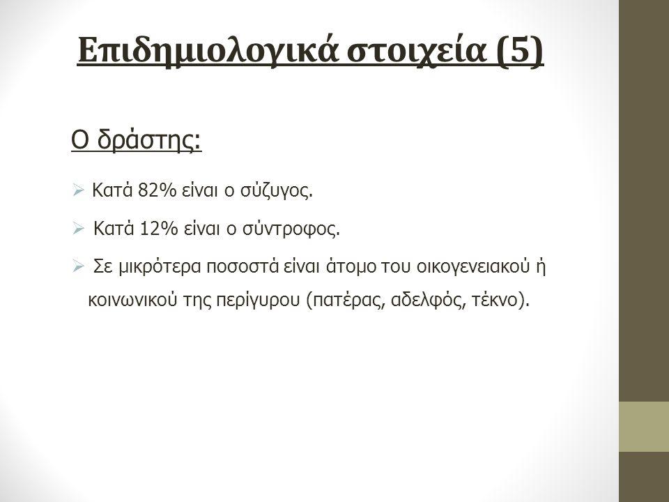 Επιδημιολογικά στοιχεία (5)