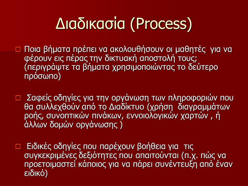Διαδικασία (Process)