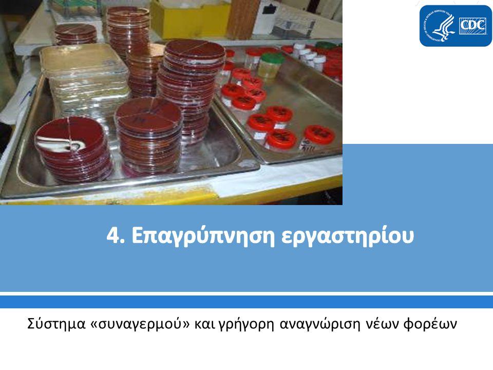 4. Επαγρύπνηση εργαστηρίου