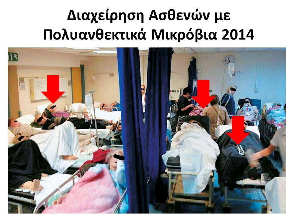 Διαχείρηση Ασθενών με Πολυανθεκτικά Μικρόβια 2014