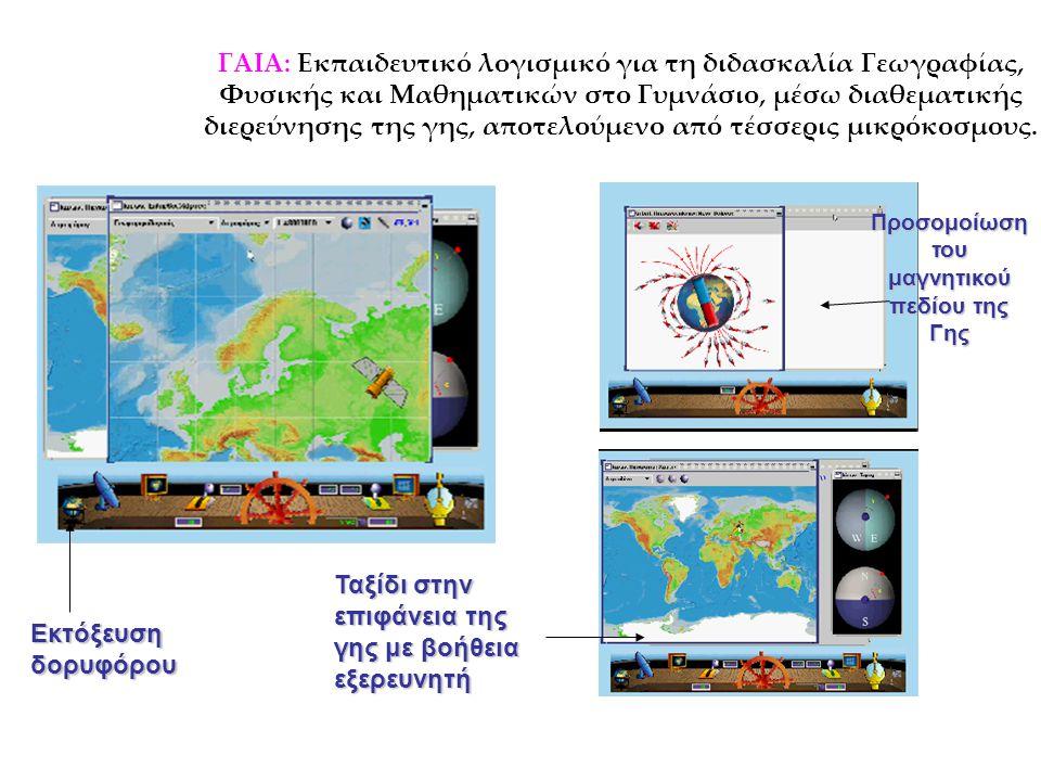 Προσομοίωση του μαγνητικού πεδίου της Γης