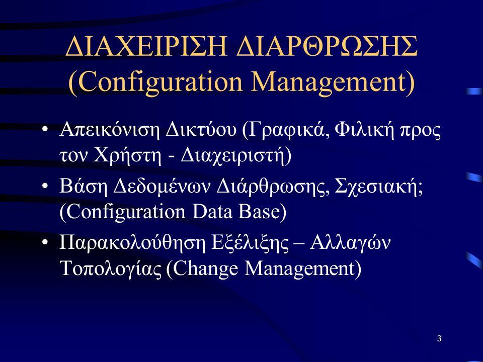 ΔΙΑΧΕΙΡΙΣΗ ΔΙΑΡΘΡΩΣΗΣ (Configuration Management)