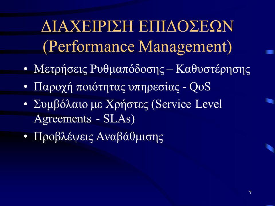 ΔΙΑΧΕΙΡΙΣΗ ΕΠΙΔΟΣΕΩΝ (Performance Management)
