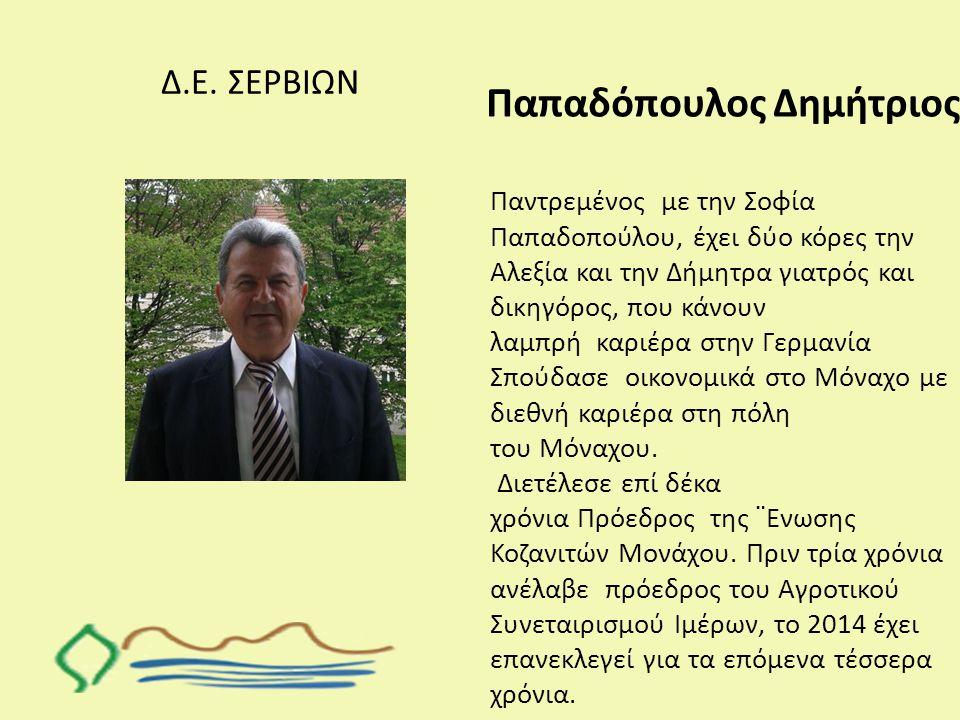 Παπαδόπουλος Δημήτριος