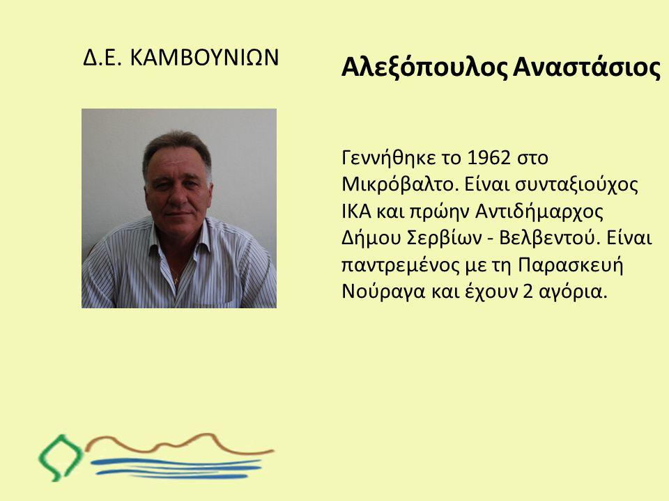 Αλεξόπουλος Αναστάσιος