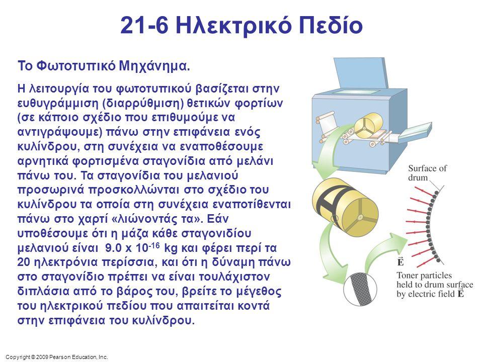 21-6 Ηλεκτρικό Πεδίο Το Φωτοτυπικό Μηχάνημα.