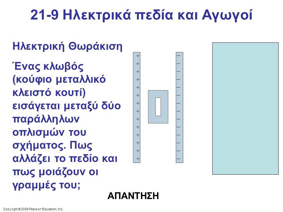21-9 Ηλεκτρικά πεδία και Αγωγοί