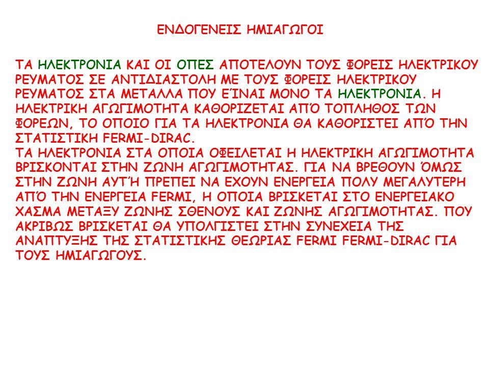 ΕΝΔΟΓΕΝΕΙΣ ΗΜΙΑΓΩΓΟΙ