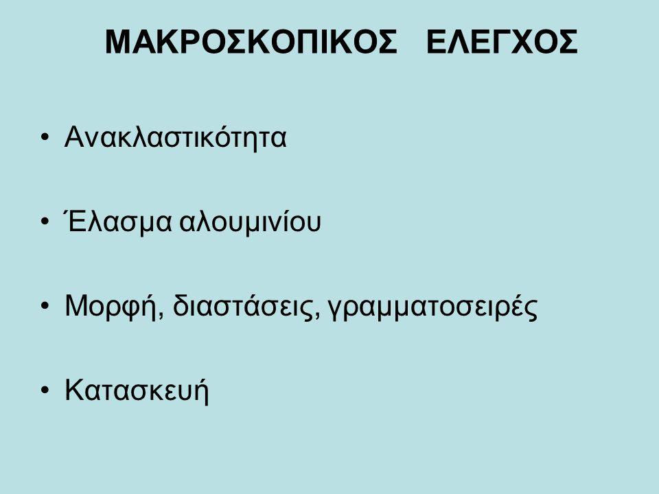 ΜΑΚΡΟΣΚΟΠΙΚΟΣ ΕΛΕΓΧΟΣ