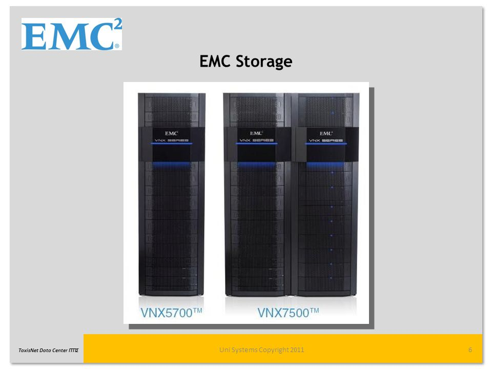 EMC Storage Uni Systems Copyright 2011