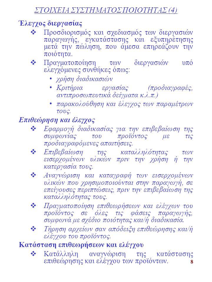 ΣΤΟΙΧΕΙΑ ΣΥΣΤΗΜΑΤΟΣ ΠΟΙΟΤΗΤΑΣ (4)