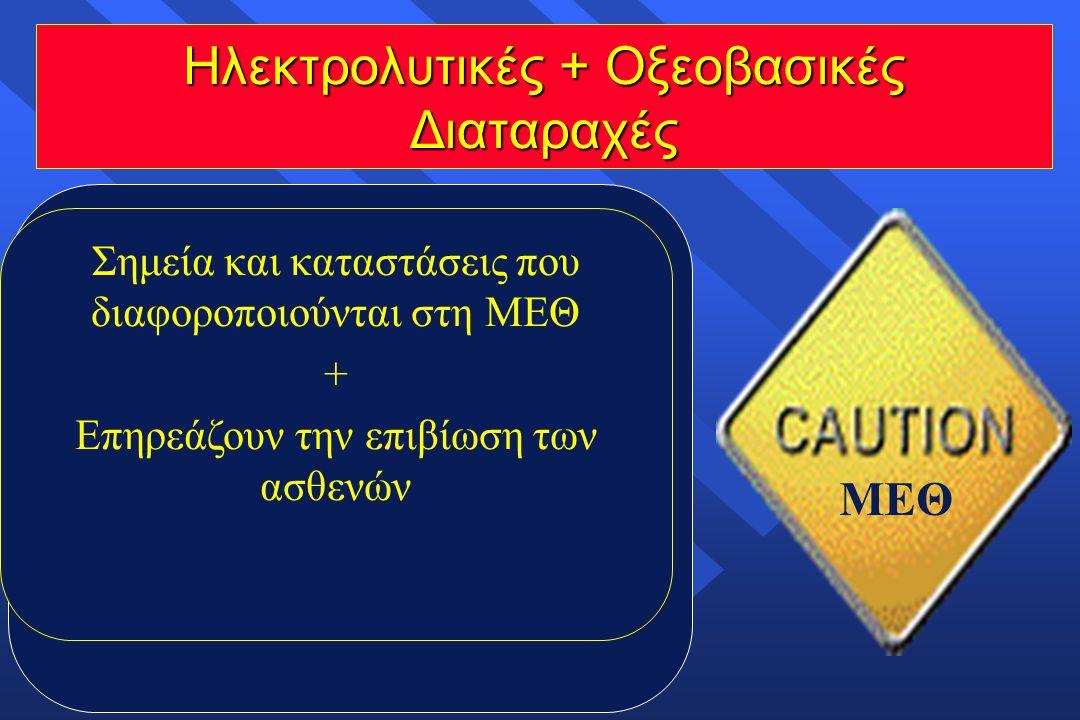 Ηλεκτρολυτικές + Οξεοβασικές Διαταραχές