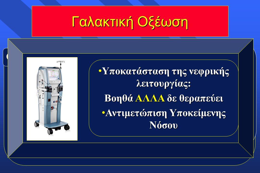 Γαλακτική Οξέωση Ορισμός : Lac > 5mmol/L + pH < 7.35