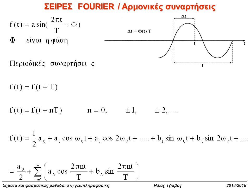 ΣΕΙΡΕΣ FOURIER / Αρμονικές συναρτήσεις