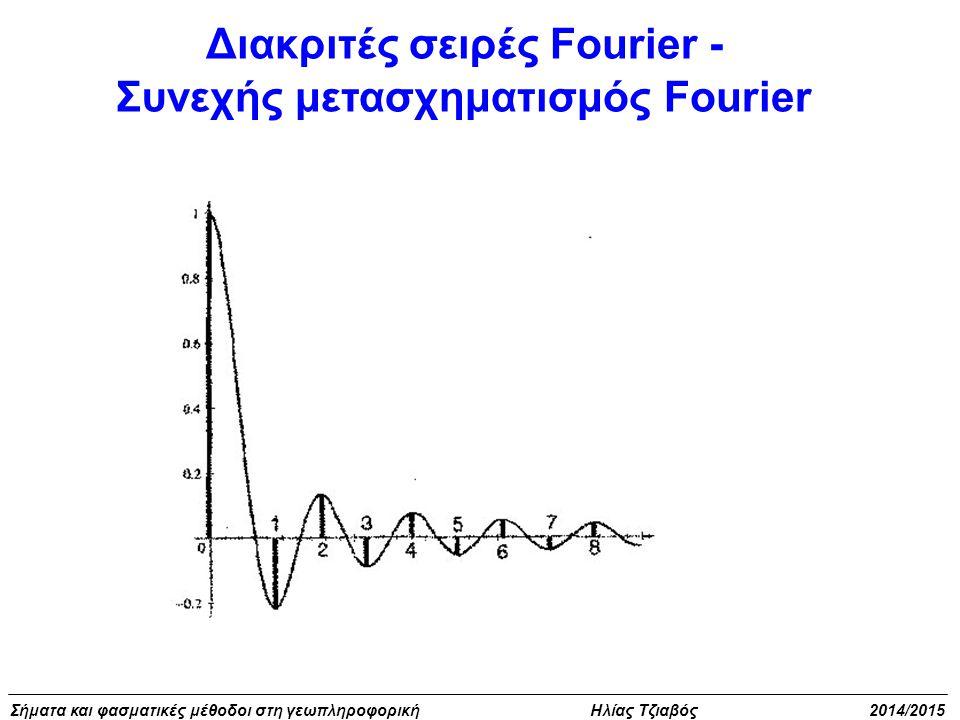 Διακριτές σειρές Fourier -