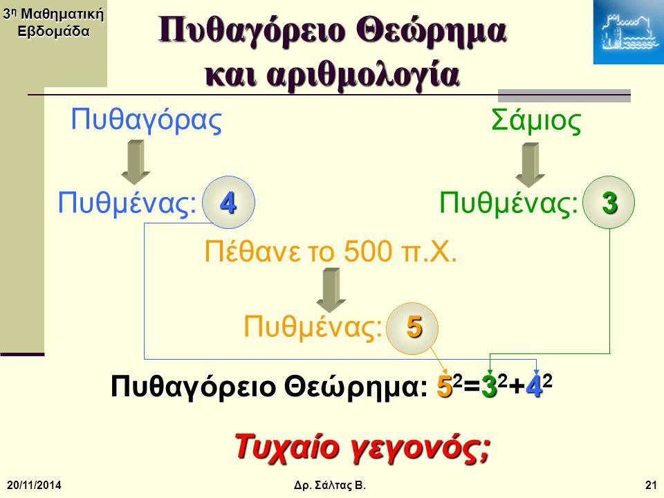 Πυθαγόρειο Θεώρημα και αριθμολογία