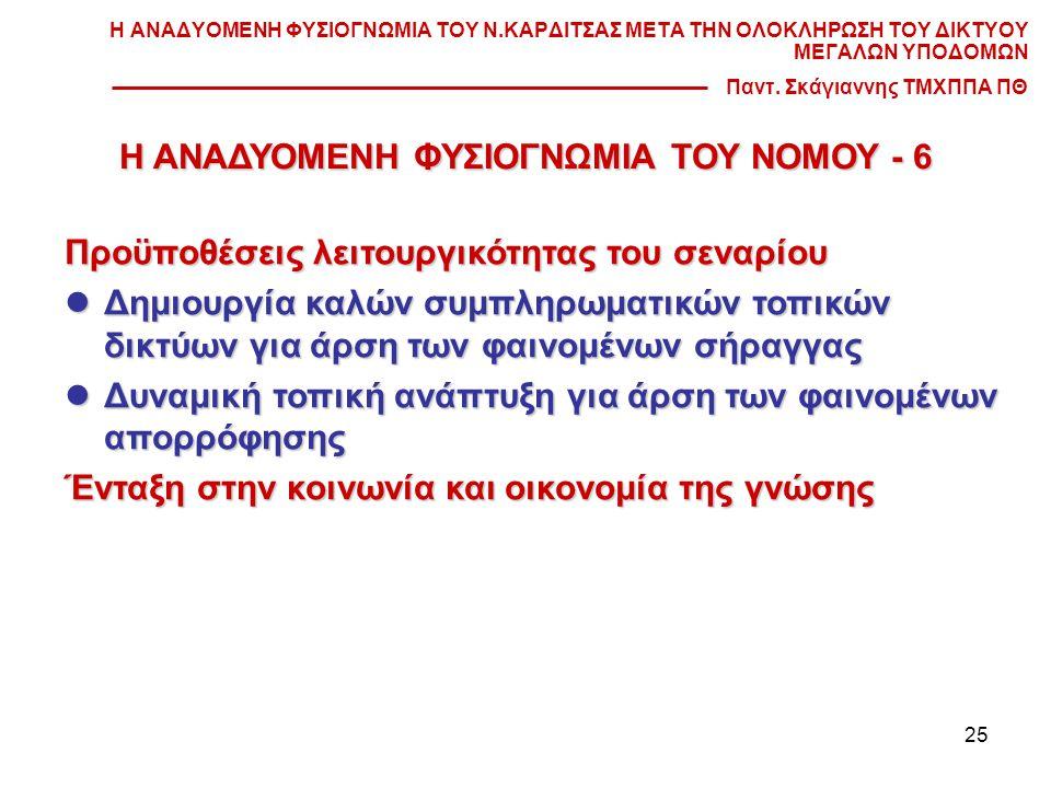 Η ΑΝΑΔΥΟΜΕΝΗ ΦΥΣΙΟΓΝΩΜΙΑ ΤΟΥ ΝΟΜΟΥ - 6