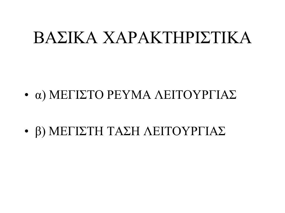 ΒΑΣΙΚΑ ΧΑΡΑΚΤΗΡΙΣΤΙΚΑ