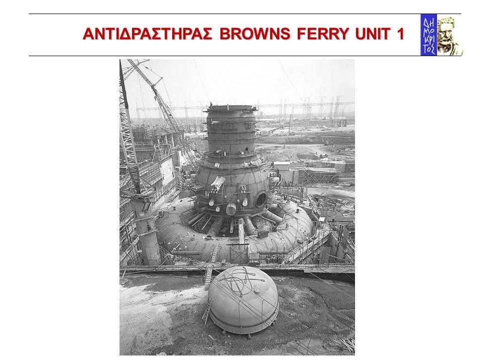 ΑΝΤΙΔΡΑΣΤΗΡΑΣ BROWNS FERRY UNIT 1