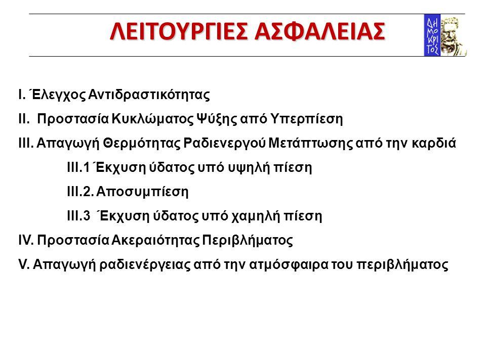 ΛΕΙΤΟΥΡΓΙΕΣ ΑΣΦΑΛΕΙΑΣ