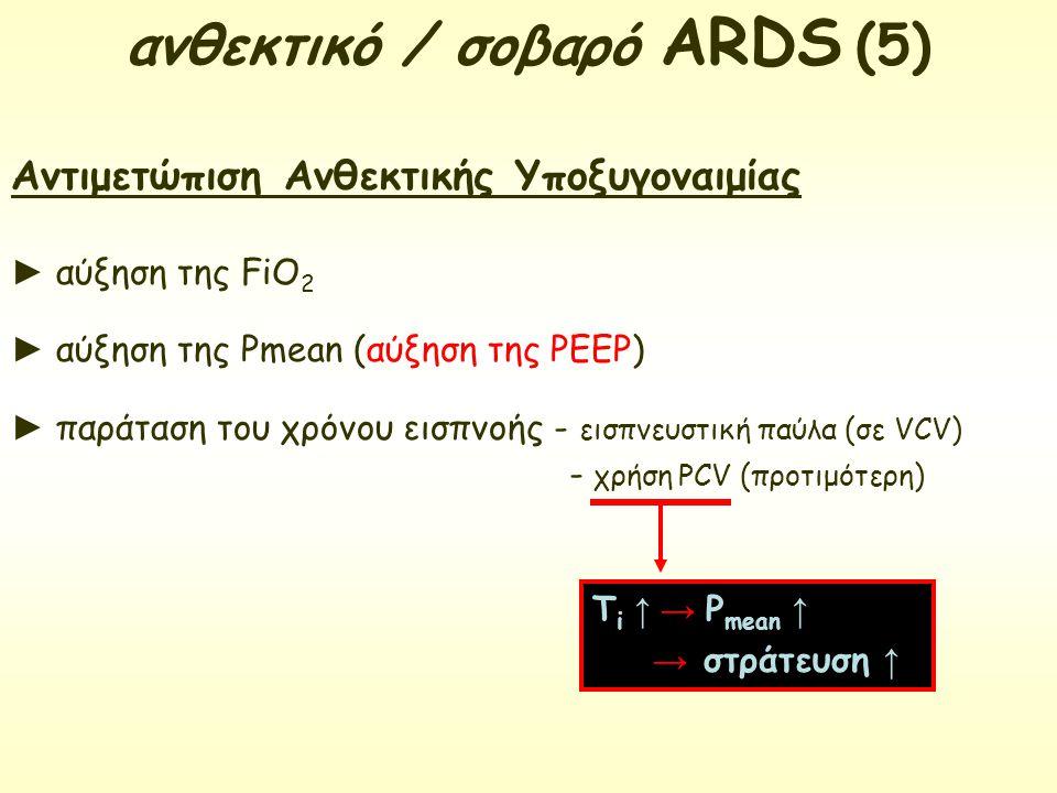 ανθεκτικό / σοβαρό ARDS (5)