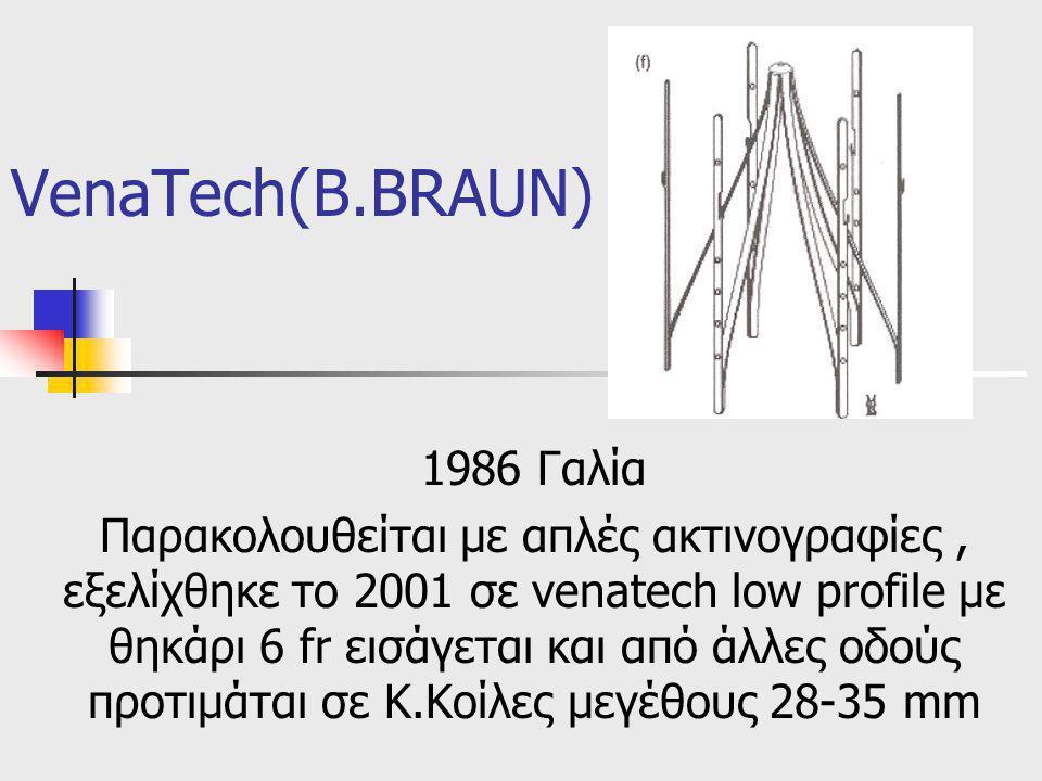 VenaTech(B.BRAUN) 1986 Γαλία