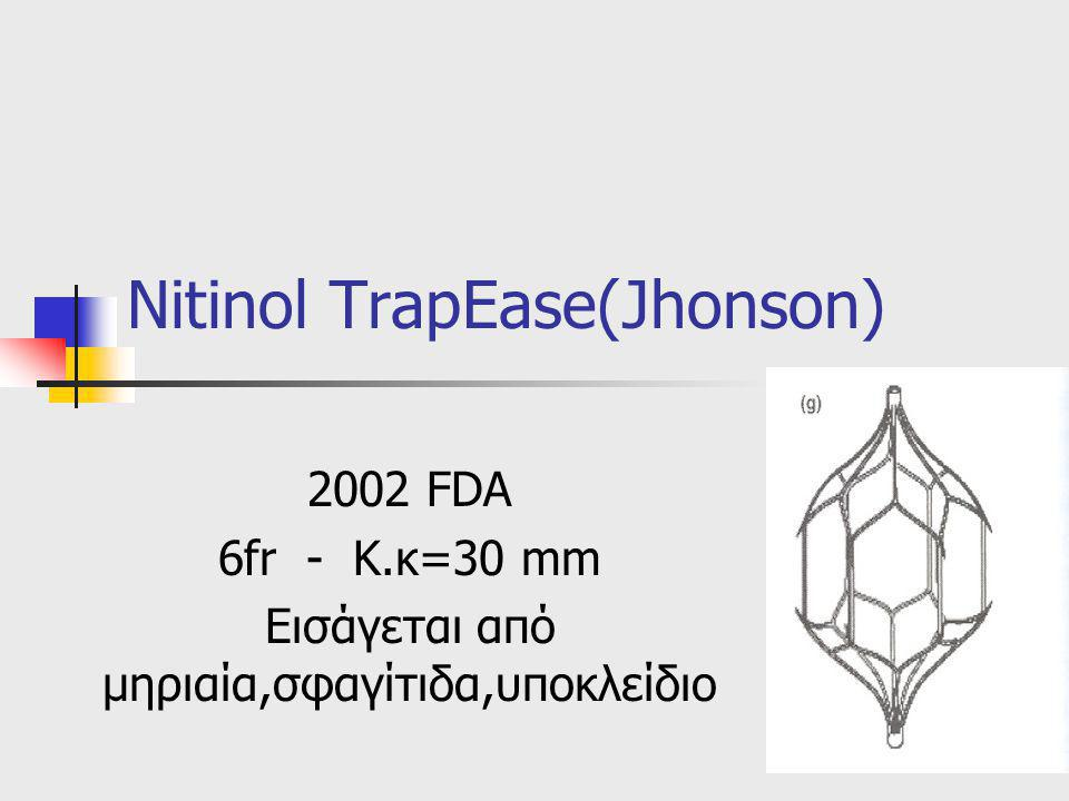 Nitinol TrapEase(Jhonson)