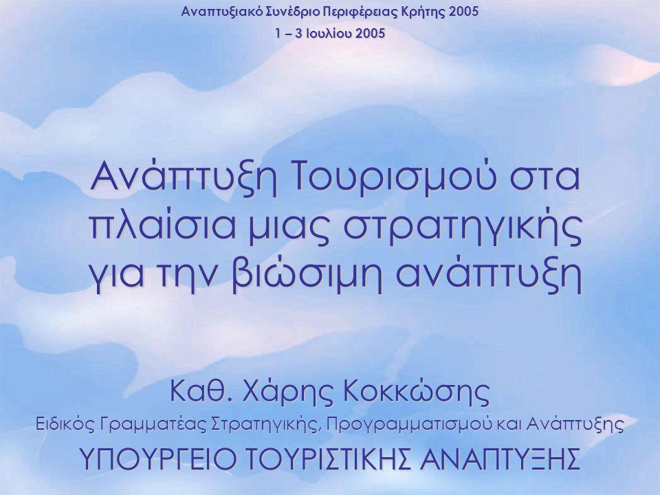 Αναπτυξιακό Συνέδριο Περιφέρειας Κρήτης 2005