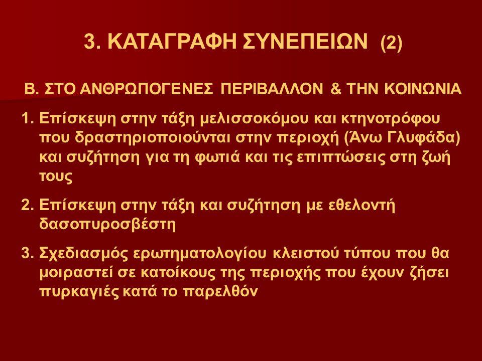 3. ΚΑΤΑΓΡΑΦΗ ΣΥΝΕΠΕΙΩΝ (2)